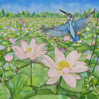 花譜-lotus&kingfisher.jpg